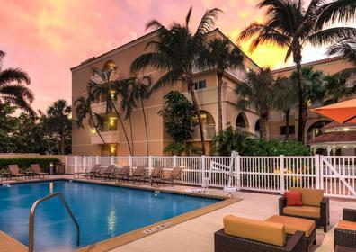 View of a room at Courtyard Fort Lauderdale North/Cypress Creek