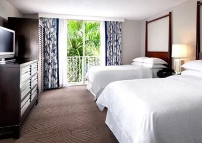 View of a room at Sheraton Suites Fort Lauderdale at Cypress Creek
