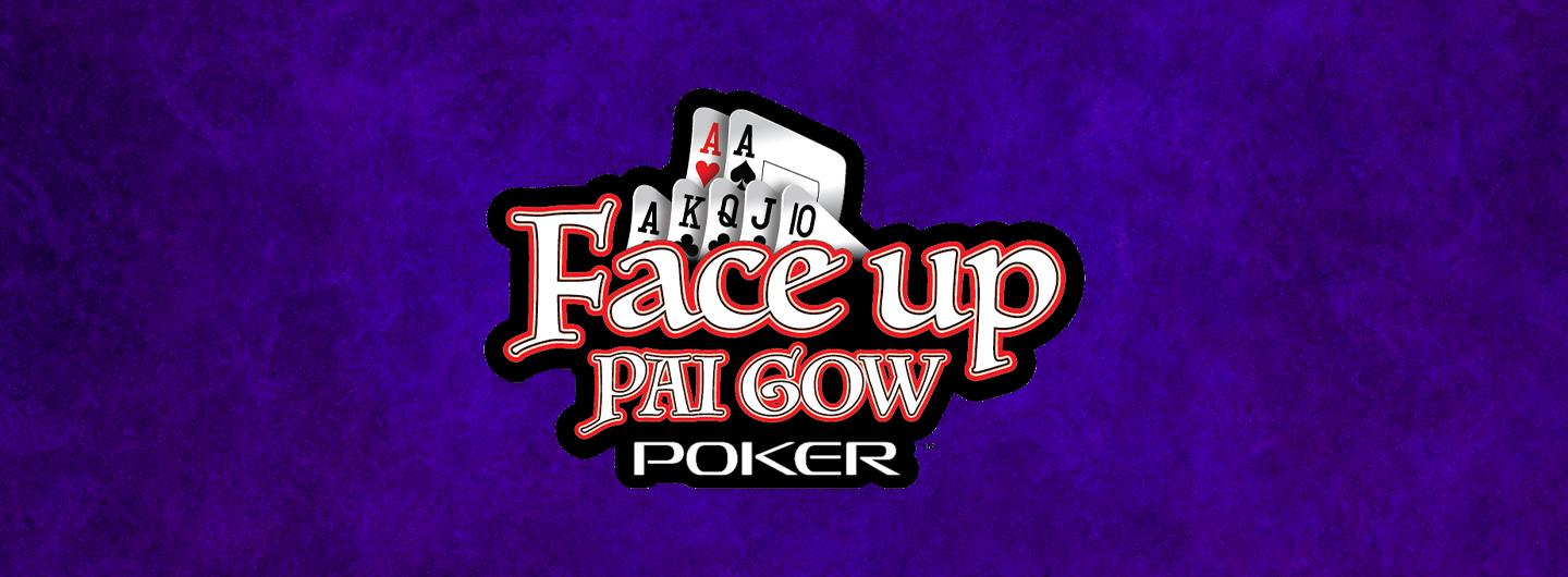 Face Up Pai Gow