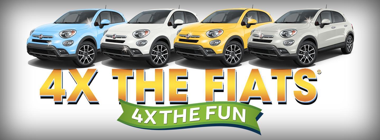 4x the Fiats