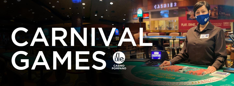 Isle Casino Poker Room Carnival Games