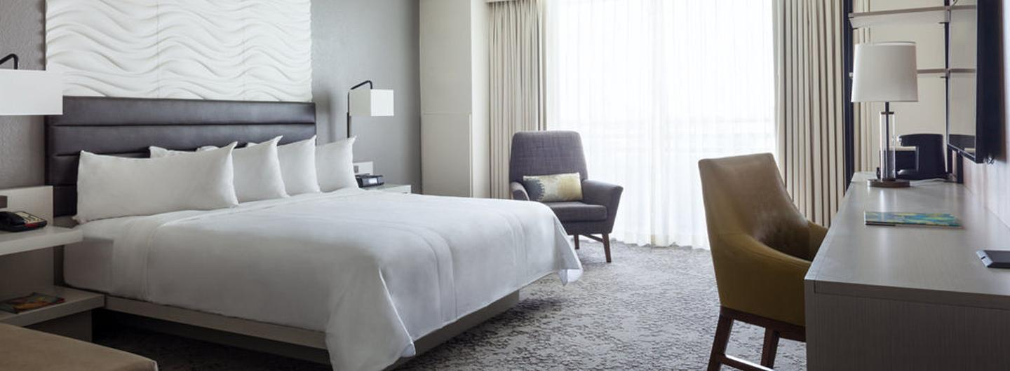 View of a room at Marriott Fort Lauderdale North