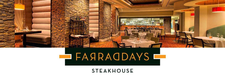 Farraddays' Steakhouse Header