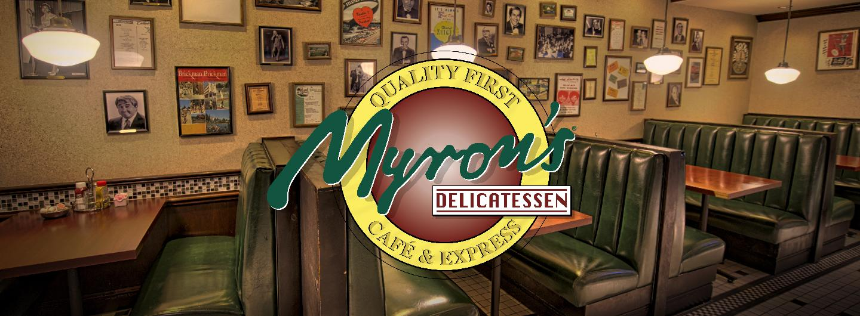 Myron's Delicatessen & Cafe Header