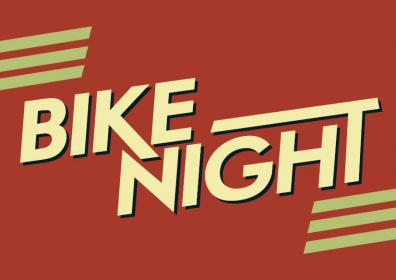 Advertisement for QFM96 Bike Night at Eldorado Gaming Scioto Downs
