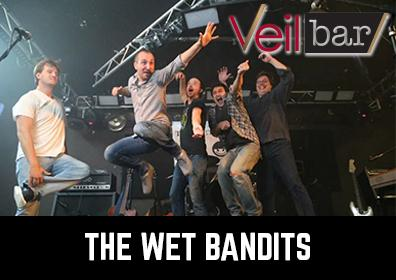Advertisement for the Wet Bandits Band at the Veil Bar at Eldorado Scioto Downs