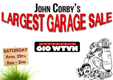 John Corby's Largest Garage Sale at Eldorado Gaming Scioto Downs