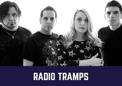 Advertisement for Radio Tramps at The Brew Brothers at Scioto Downs