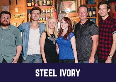 Advertisement for Steel Ivory at The Brew Brothers at Scioto Downs