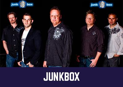 Advertisement for Junkbox at The Brew Brothers at Scioto Downs