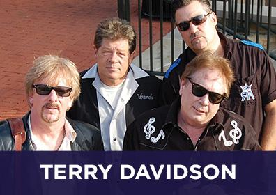 Advertisement for Live Entertainment at The Brew Brothers featuring Terry Davidson