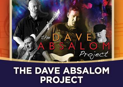 Advertisement for Rhythm & Brews at The Brew Brothers featuring the Dave Absalom Project