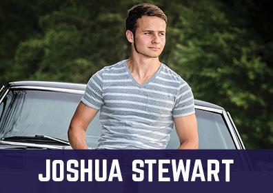 Advertisement for Joshua Stewart at The Brew Brothers at Scioto Downs
