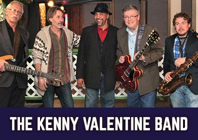Advertisement for Live Entertainment at The Brew Brothers featuring the Kenny Valentine Band