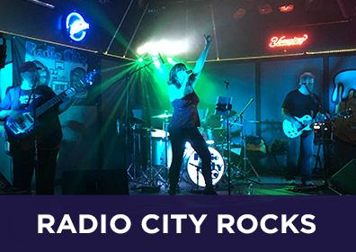 Advertisement for Radio City Rocks at The Brew Brothers at Scioto Downs