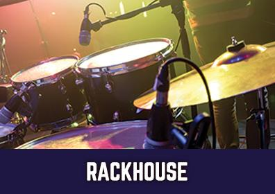 Advertisement for Rackhouse at The Brew Brothers at Scioto Downs