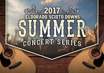 2017 Summer Concert Series at Eldorado Gaming Scioto Downs in Columbus, Ohio