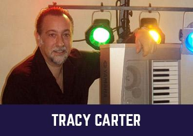 Advertisement for Live Entertainment featuring Tracy Carter