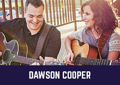 Advertisement for Dawson Cooper at The Brew Brothers at Scioto Downs