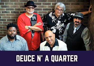 Advertisement for Deuce 'n a Quarter at The Brew Brothers at Eldorado Scioto Downs