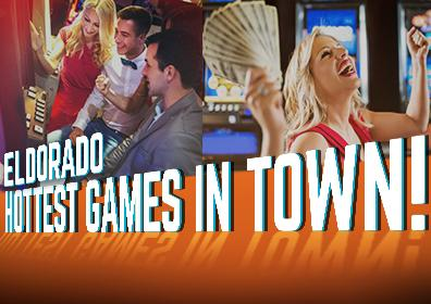 Advertisement for Hot New Games at Eldorado Scioto Downs