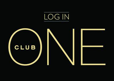 Advertisement for the ONE Club log in at Eldorado Scioto Downs