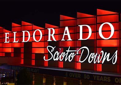Advertisement for Eldorado Scioto Downs in Columbus, Ohio
