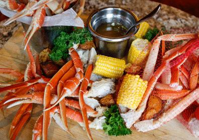 Crab Legs at The Grove Buffet in Columbus, Ohio