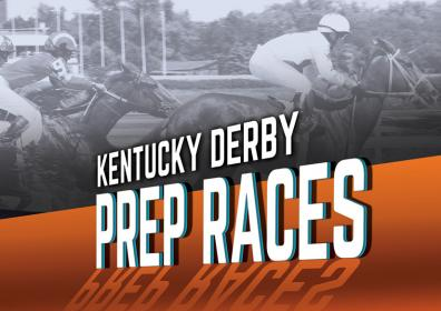 Advertisement for the Kentucky Derby Prep Races at the Eldorado Scioto Downs Racebook
