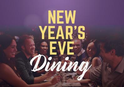 Advertisement for New Year's Eve Dining at Eldorado Scioto Downs