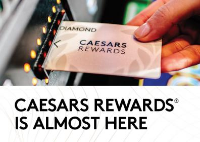 Advertisement for Caesars Rewards at Eldorado Scioto Downs