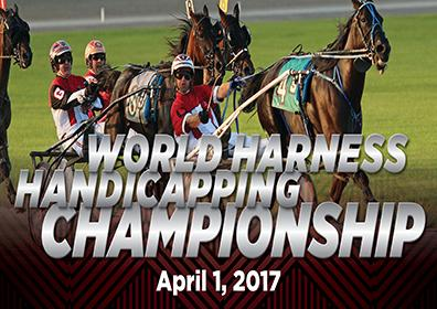 Advertisement for the World Harness Handicapping Championship at Eldorado Scioto Downs