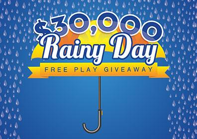 $30,000 Rainy Day Free Play Giveaway at Eldorado Scioto Downs
