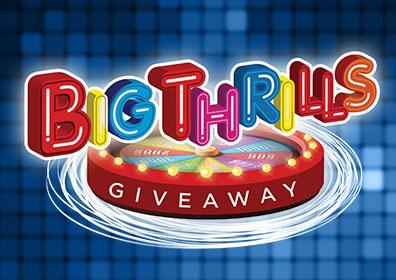 Spin the prize wheel for your chance to win up to $500 in Free Play!