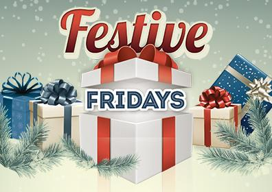 Advertisement for Festive Fridays at Eldorado Scioto Downs