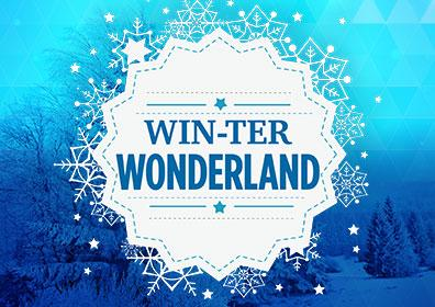 Advertisement for WIN-ter Wonderland at Eldorado Scioto Downs