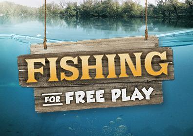 Advertisement for Fishing for Free Play at Eldorado Gaming Scioto Downs