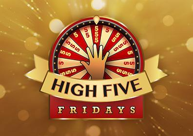 Advertisement for High Five Fridays at Eldorado Gaming Scioto Downs