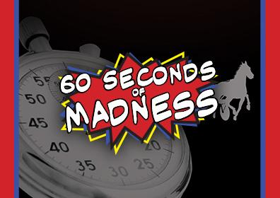 Advertisement for 60 Seconds of Madness at Eldorado Scioto Downs