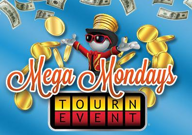 Advertisement for Mega Mondays at Eldorado Gaming Scioto Downs