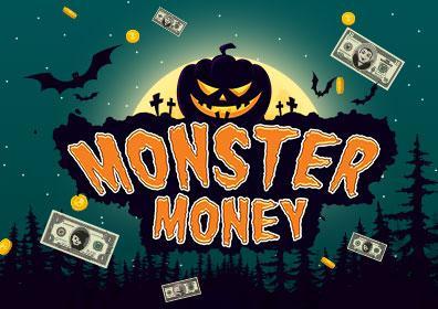 Advertisement for Monster Money at Eldorado Scioto Downs