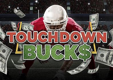 Advertisement for Touchdown Buck$ at Eldorado Scioto Downs