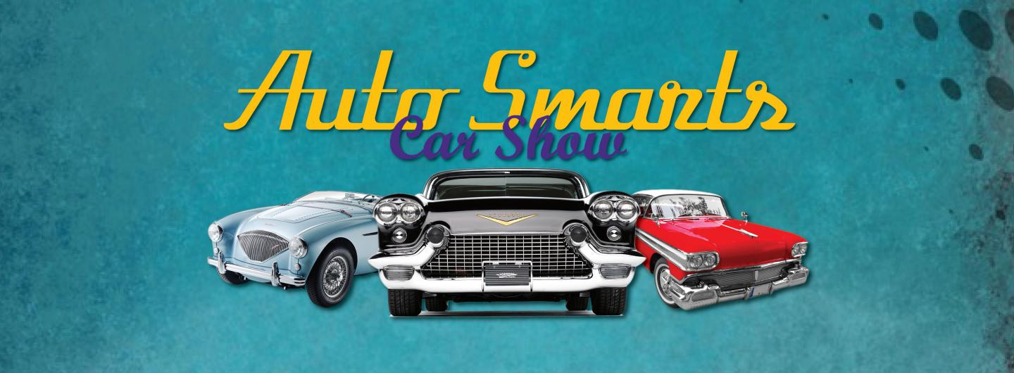 Advertisement for the Auto Smarts Car Show at Eldorado Scioto Downs