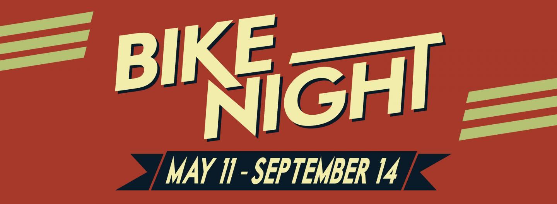 Advertisement for QFM96 Bike Night at Eldorado Gaming Scioto Downs