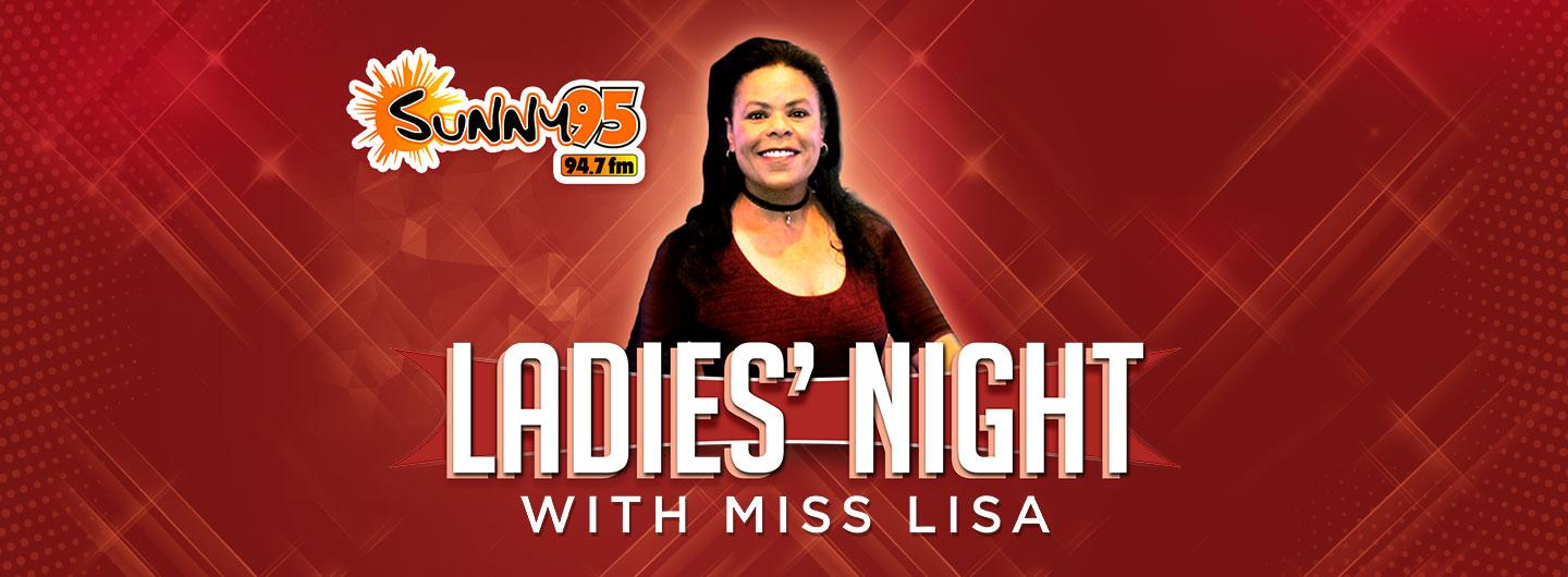Advertisement for Ladies Night with Miss Lisa