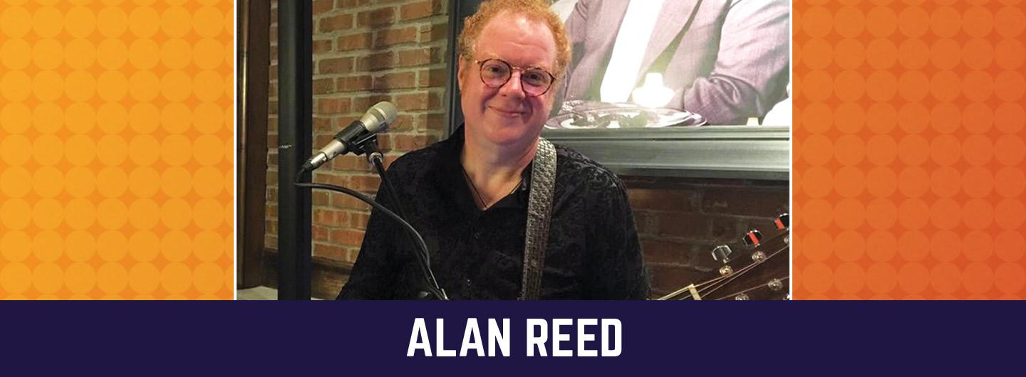 Advertisement for Alan Reed at The Brew Brothers at Scioto Downs