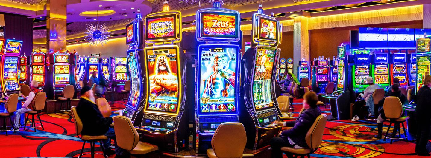 Gaming Machines at Eldorado Scioto Downs in Columbus, Ohio