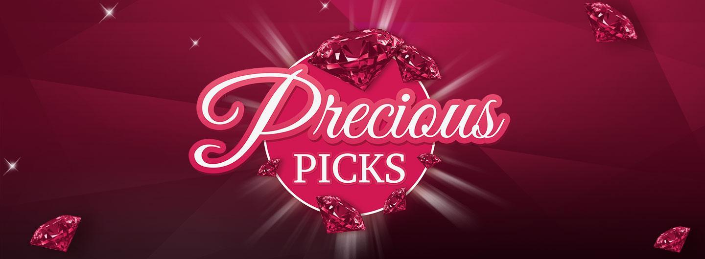Advertisement for Precious Picks at Eldorado Scioto Downs