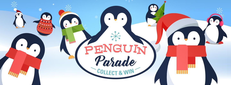 Advertisement for Penguin Parade at Eldorado Scioto Downs
