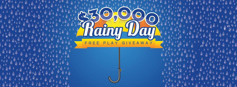 $30,000 Rainy Day Free Play Giveaway at Eldorado Scioto Downs